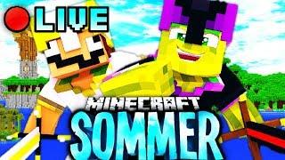 Minecraft SOMMER LIVESTREAM!!