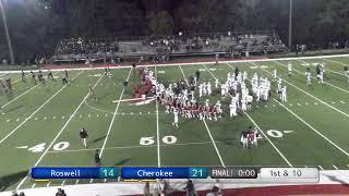 Roswell vs Cherokee October 11, 2019