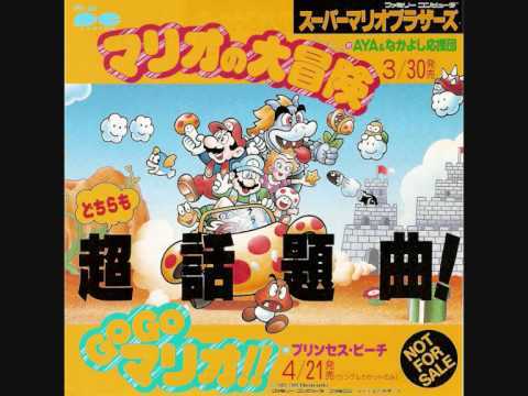 The Mario Bros  theme song actually has lyrics and they're