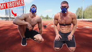 Bodybuilders try PACER Fitness Test (Beep Test) without practice