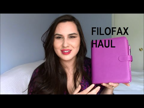 Filofax Supplies and Stationery Haul