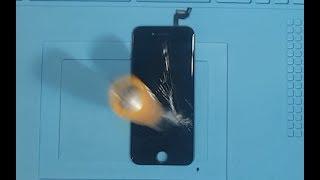 iPhone Screen Strength Testing | Copy Vs Original | Chisel Test