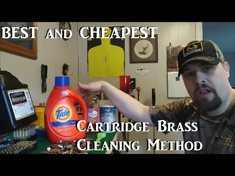 BEST and CHEAPEST Cartridge Brass Cleaning Method