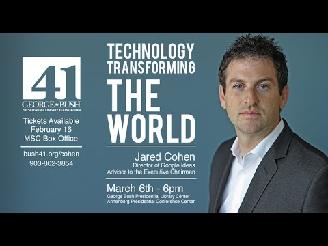 Jared Cohen: Technology Transforming the World - YouTube