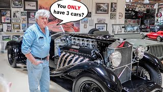 All Of Jay Leno's 183 Cars in PRIVATE WAREHOUSE TOUR!