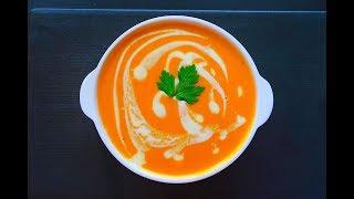 شوربة الطماطم بالكريمة || على طريقة المطاعم tomato soup || restaurant style- English subtitles