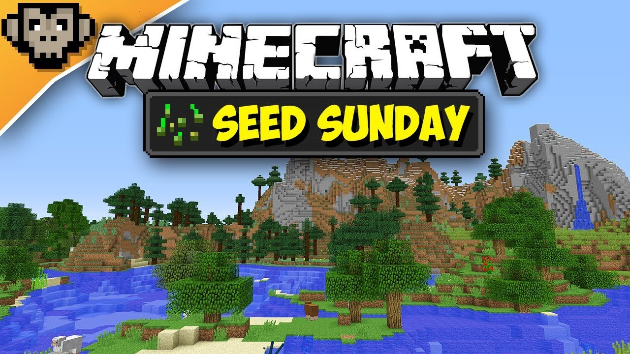Minecraft 1122 Beautiful Spawn Seed Sunday Ep245