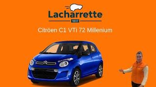 Présentation C1 VTi 72 Millenium vo23767