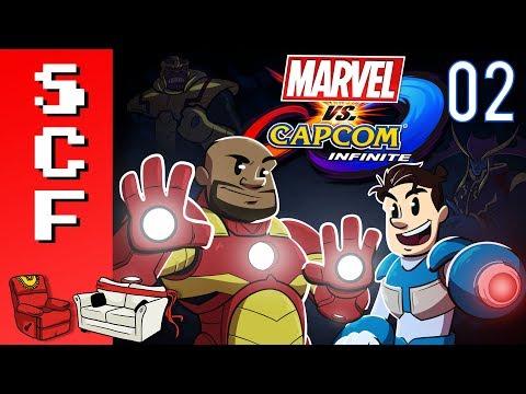 Marvel vs. Capcom: Infinite - Part 2! Super Couch Fighters!