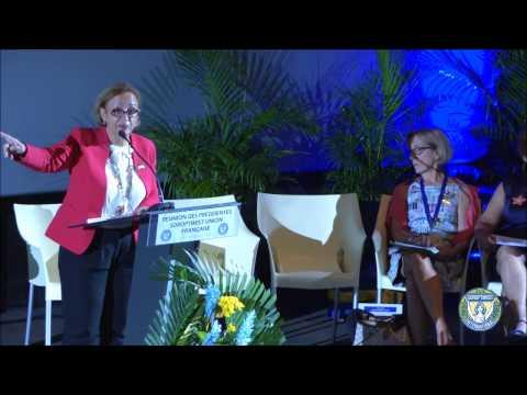 Union Française - Réunion des Présidentes 2016 - Programmes d'Action 2016/2018