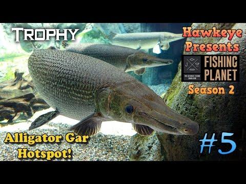 Fishing Planet S2 - Ep. #5:  Quanchkin, LA - TROPHY Alligator Gar Hotspot!