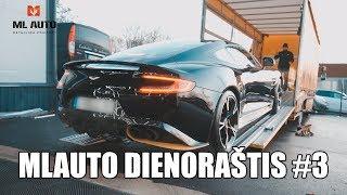 MLAuto Dienoraštis #3: Aston Martin Išvažiavimo Operacija