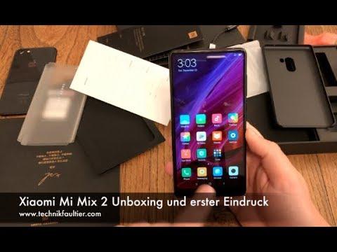 Xiaomi Mi Mix 2 Unboxing und erster Eindruck