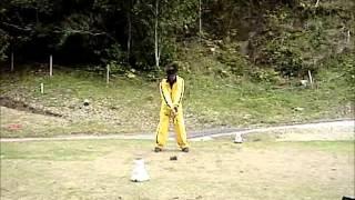 キャメルゴルフ サスクワッチドライバー ぶっ飛び動画.