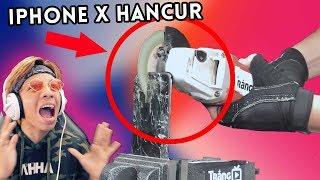 Penghancuran IPHONE X TERSADIS Di DUNIA!!