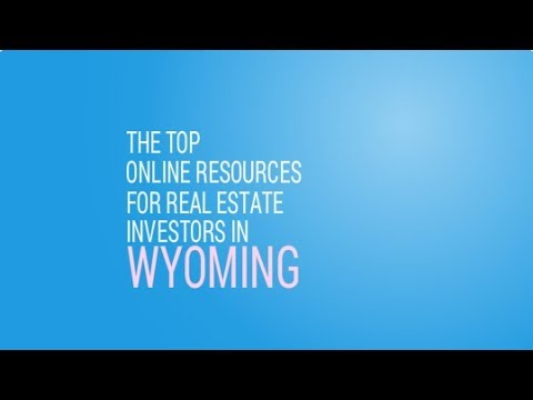 The Top Online Resources for Real Estate Investors in Wyoming