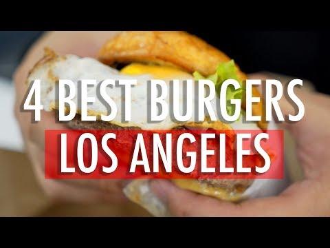 MUKBANG: 4 TOP L.A. BURGERS!