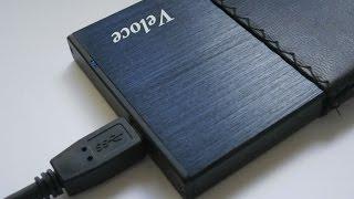 Showcase and test: Veloce 2,5'' SATA HDD Enclosure