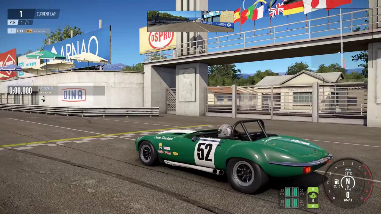 project cars 2 jaguar e type v12 group44 1974 speed crash car test youtube. Black Bedroom Furniture Sets. Home Design Ideas