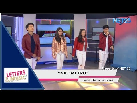 THE VOICE TEENS - KILOMETRO (NET25 LETTERS AND MUSIC)