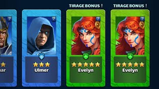 EMPIRES AND PUZZLES - OMG !!!😱 DOUBLE HOTM EVELYN ???😍