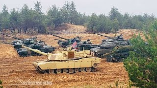 U.S. Military Build-up on Russia Border - Days after Putin