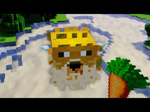 I Made The Pufferfish Meme In Minecraft