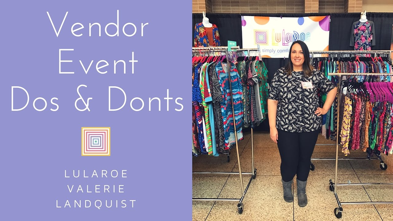 My First Lularoe Vendor Event What I Learned Wish I Did
