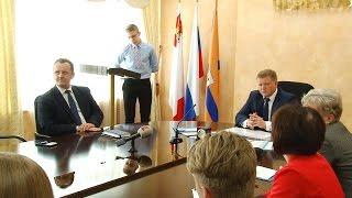 Встреча Юрия Кузина с участниками проекта «Человек— Тень»