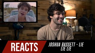 Producer Reacts to Joshua Bassett - Lie Lie Lie