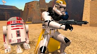 Star Wars Battlefront 2 Mods: Mos Eisley Space Port  Skin Changer mod 38th division