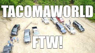 TACOMAWORLD Takeover of Peter's Mill Run & Tasker's Gap, George Washington National Forest
