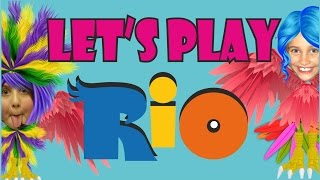 Rio PS3 - Fantastic Multiplayer Family Game - Crazy Parrots !