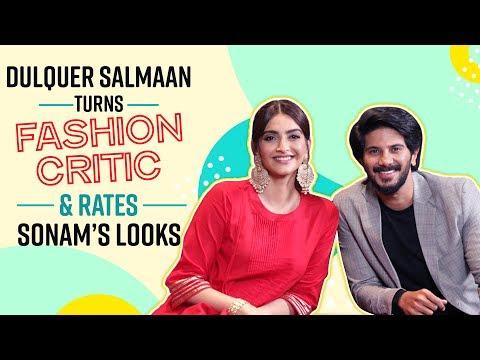 Dulquer Salmaan turns fashion critic rates all of Sonam Kapoor's looks | The Zoya Factor | Maheroo Mp3