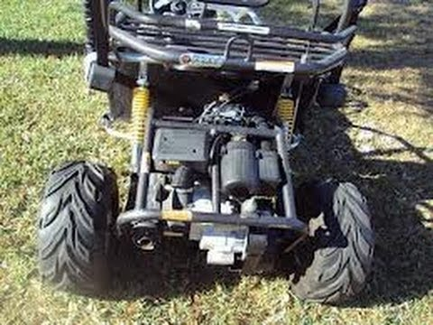 Helix 150cc Go Kart manual on