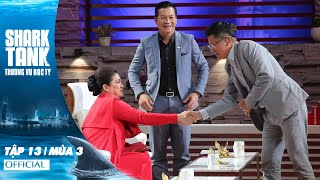 Shark Tank Việt Nam Tập 13 Full | Mùa 3 | Shark Liên Với Cú Đúp Hoành Tráng Đầu Tư Cho Startup
