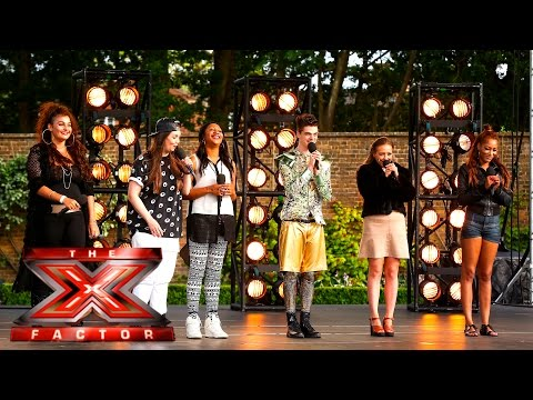 Group 8 take on Taylor Swift's Blank Space | Boot Camp | The X Factor UK 2015
