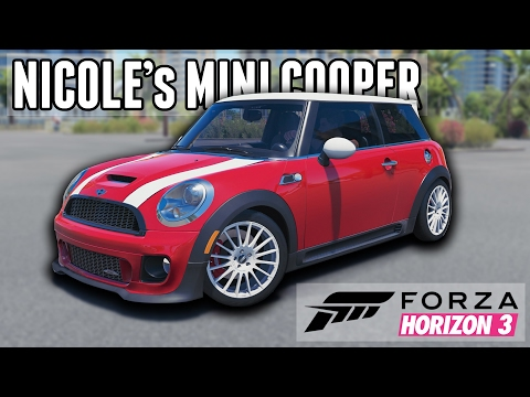Nicole LZ's F56 Mini Cooper S || Youtuber Car Builds: Forza Horizon 3