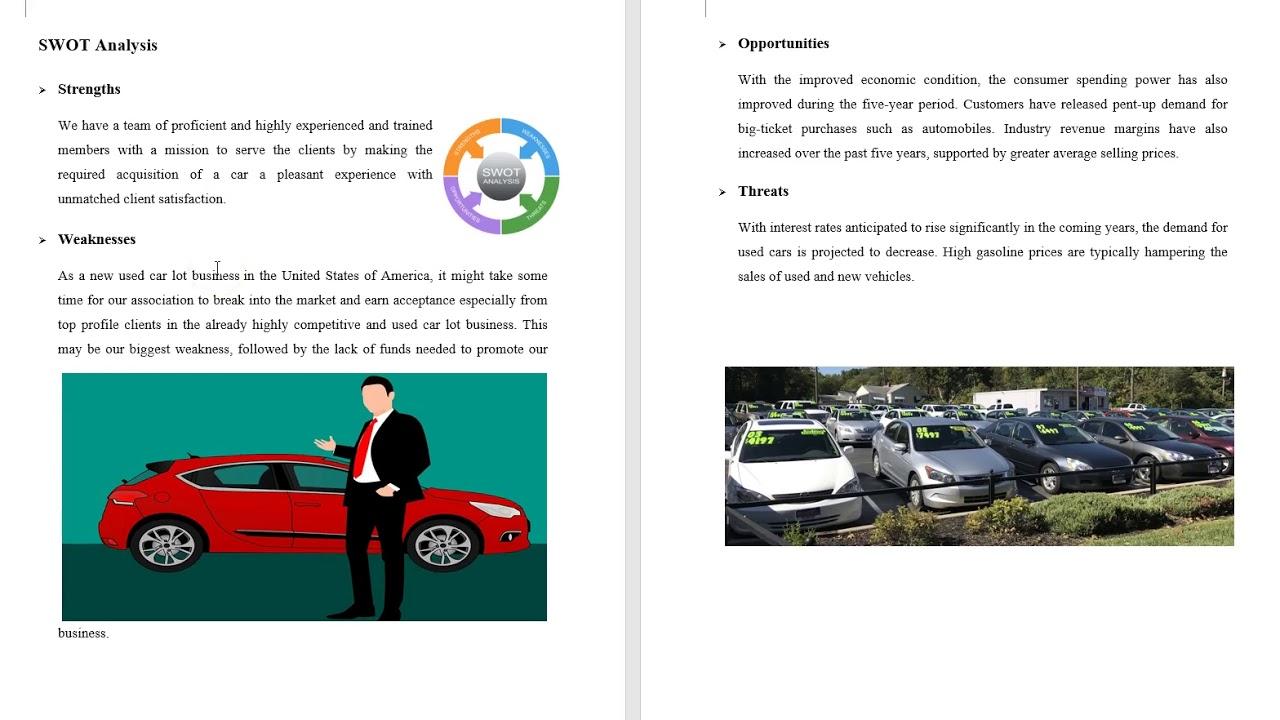 Car business plan esl cover letter ghostwriters service au