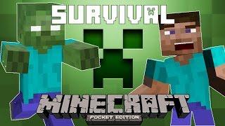 Minecraft Pocket Edition - Survival Mode - Indonesia Gameplay