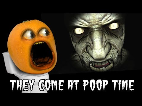 THEY COME AT POOP TIME! 🍊💩 [Annoying Orange Plays]