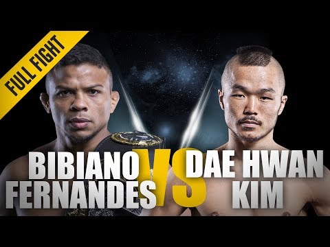 ONE: Full Fight | Bibiano Fernandes vs. Dae Hwan Kim | Over In A Flash | December 2014