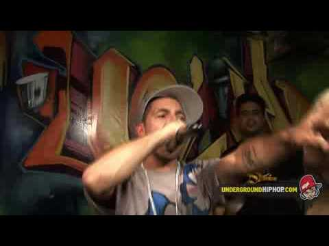 Termanology - Watch How It Go Down (Live At The UGHH Retail Store - 10/1/08)