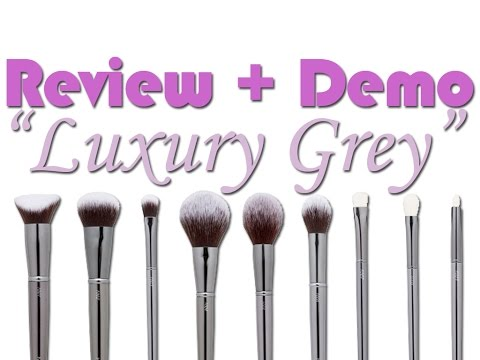 "Review + Demo pinceles ""Luxury Grey"" (Maiko Brushes)"