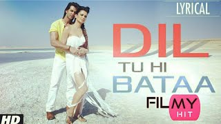 Dil Tu Hi Bataa ,, Full Video Song | Hrithik Roshan, Kangana Ranaut. (filmyhit)