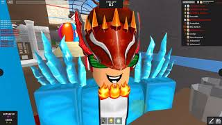 Getting Rainbow Luger in Roblox MMX! OMG
