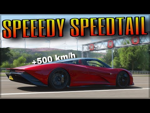 NEW McLaren Speedtail … but I broke its physics | Forza Horizon 4 | How fast without any drag?