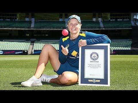Alyssa Healy breaks Guinness World Record