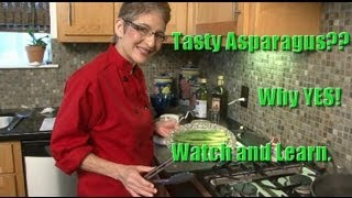 Cooking Healthy Recipes: Tasty Asparagus With Balsamic Dressing