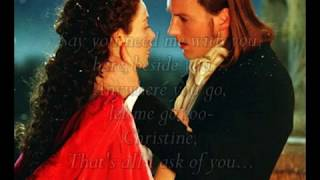 All I Ask of You ~  Phantom of the Opera ~ With Lyrics